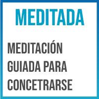 concentrarse con meditacion