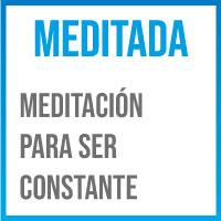 meditar para ser constante
