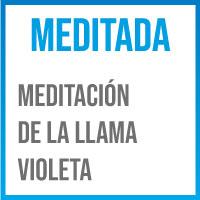 meditacion guiada llama violeta